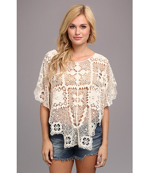 Free People - Bad Romance Sweater (Ivory Combo) Women's Blouse