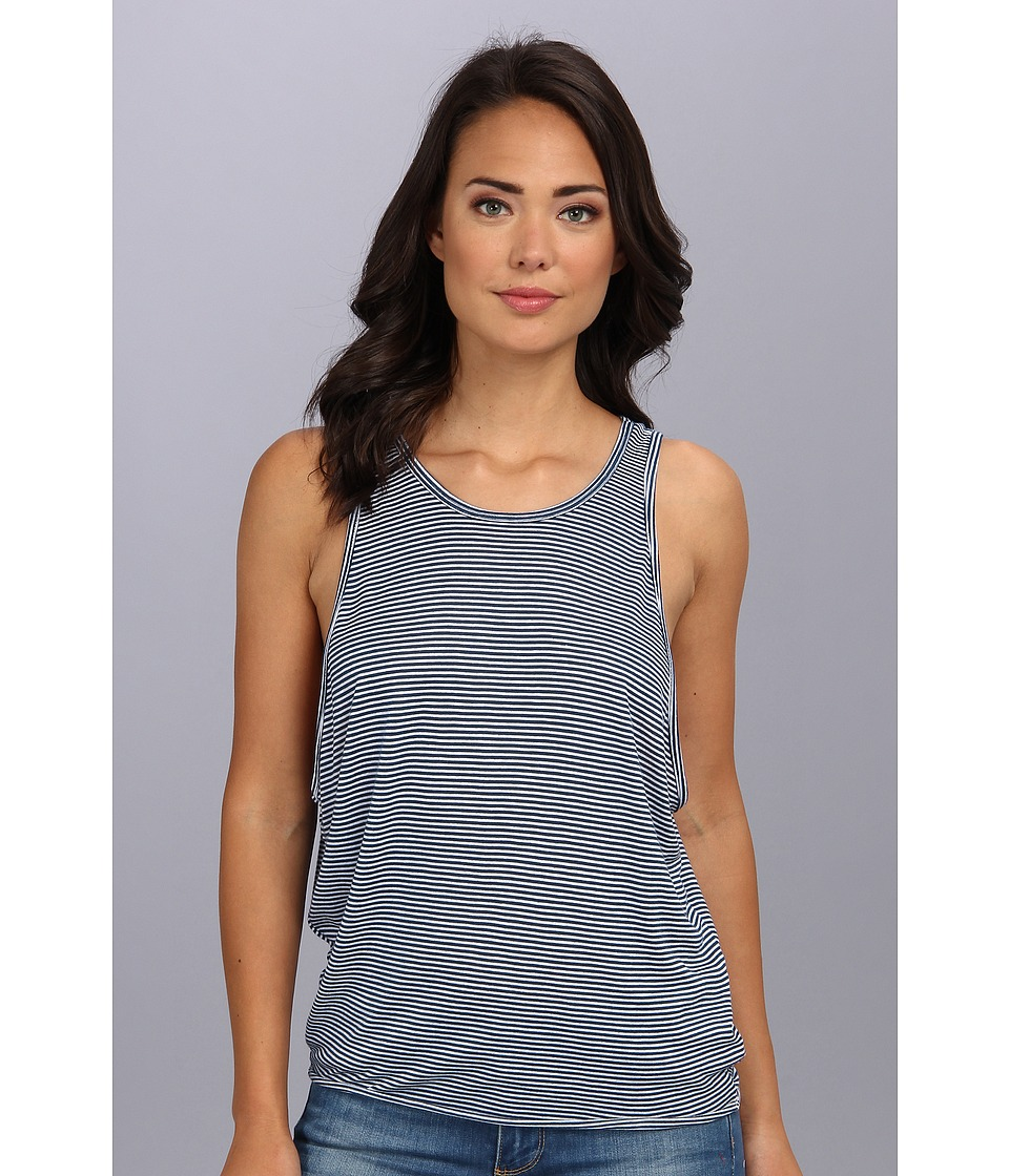 Free People - Sedwick Tank (White/Navy Combo) Women's Sleeveless