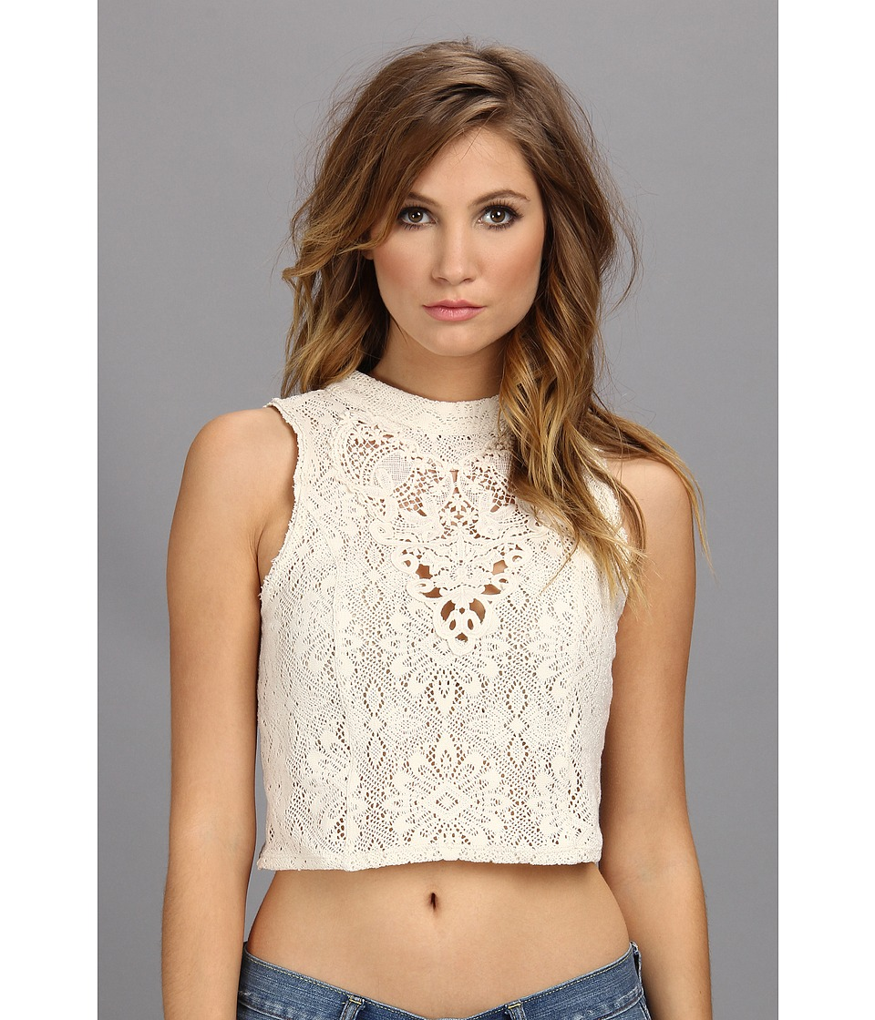 Free People - Greatest Hits Top (Ivory) Women's Blouse