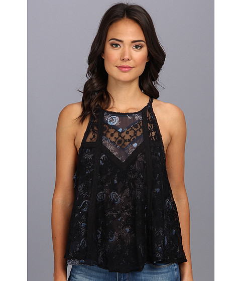 Free People - Ms Mackenzie Top (Black Combo) Women's Sleeveless