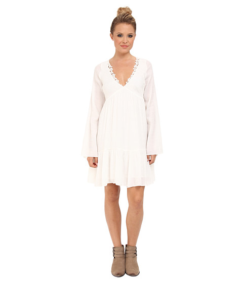 Free People - Gentle Dreamer Dress (Gardenia) Women's Dress