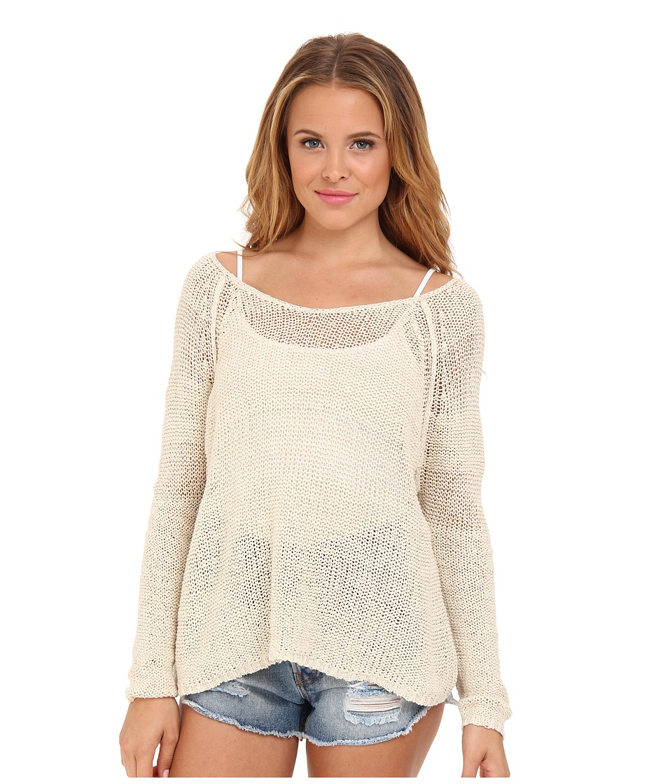 Free People - Nickel and Dimes Pullover Sweater (Ivory) Women's Sweater