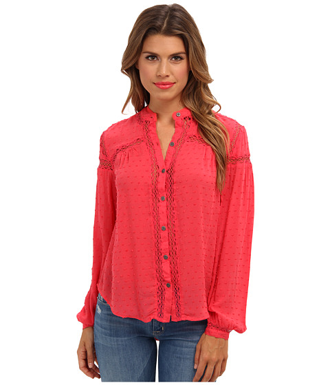 Free People - Every Day Top (Strawberry) Women's Blouse