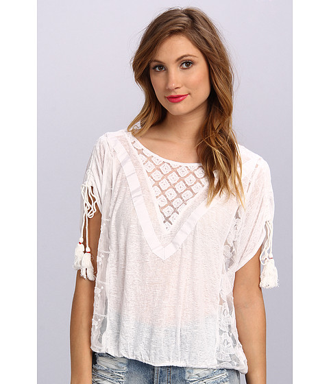 Free People - South Equator Top (White) Women