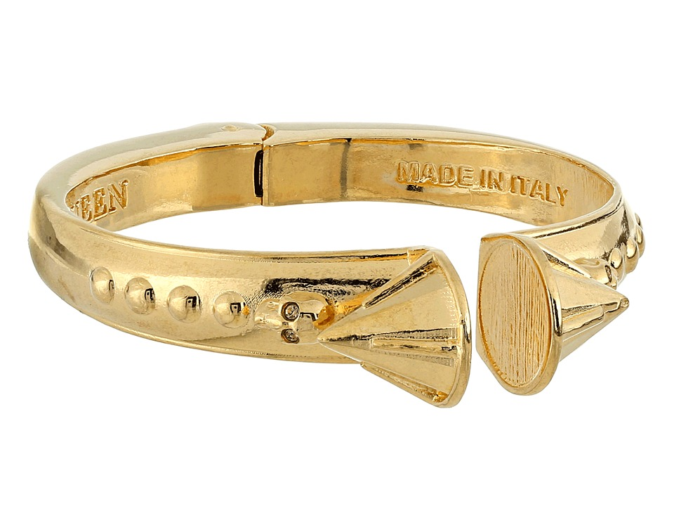 Alexander McQueen - 358726J160O 8081 (Gold) Bracelet