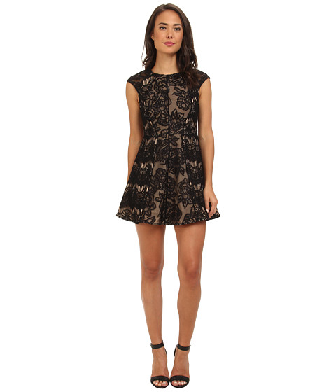 StyleStalker - Love You Inside Out Dress (Black) Women's Dress