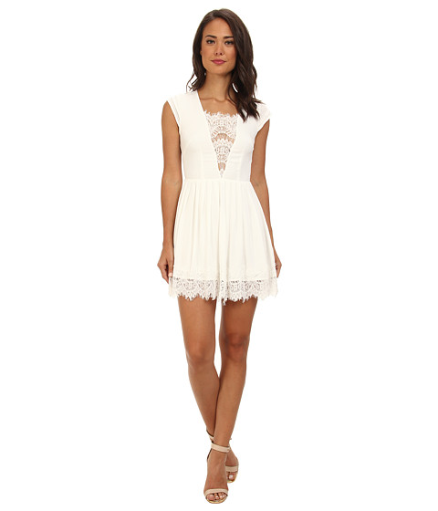 StyleStalker - Mayfair Dress (White) Women's Dress