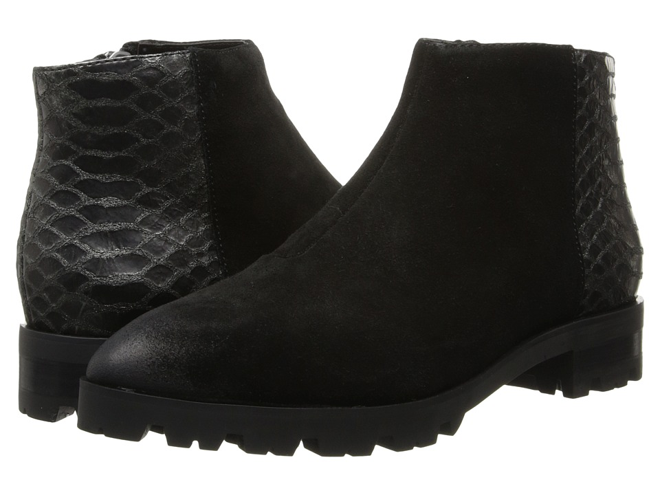Luxury Rebel - Glenda (Black/Gill) Women's Zip Boots