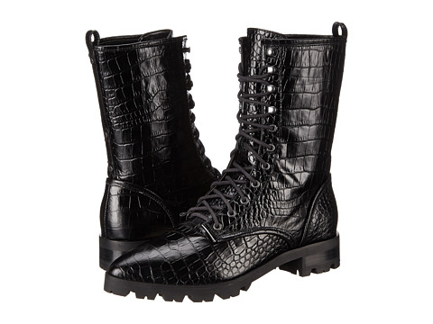 Luxury Rebel - Gretchen (Black) Women's Lace-up Boots