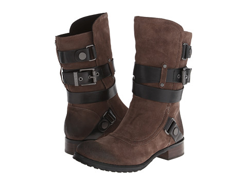 Luxury Rebel - Lana (Khaki/Black) Women's Pull-on Boots