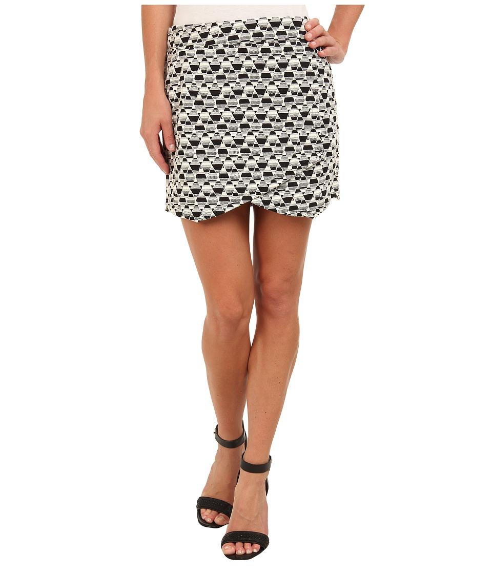 Sanctuary - Blogger Skirt (Check) Women's Skirt