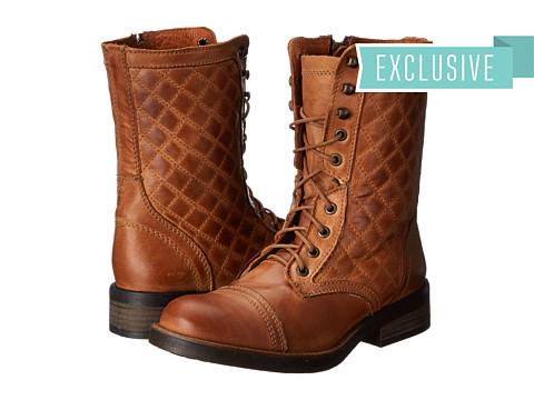 Steve Madden - Exclusive - Saffrin (Cognac Leather) Women