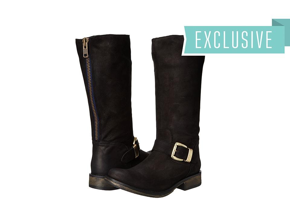 Steve Madden - Exclusive - Fllash (Black Leather) Women