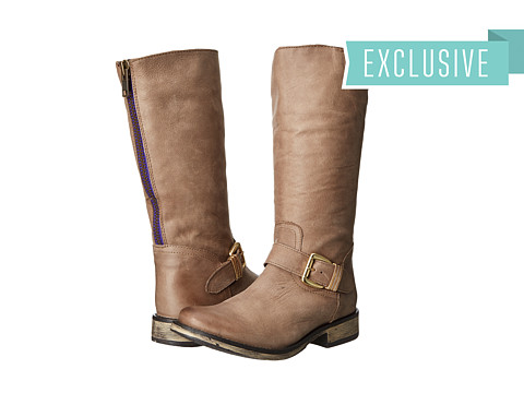 Steve Madden - Exclusive - Fllash (Stone Leather) Women's Pull-on Boots