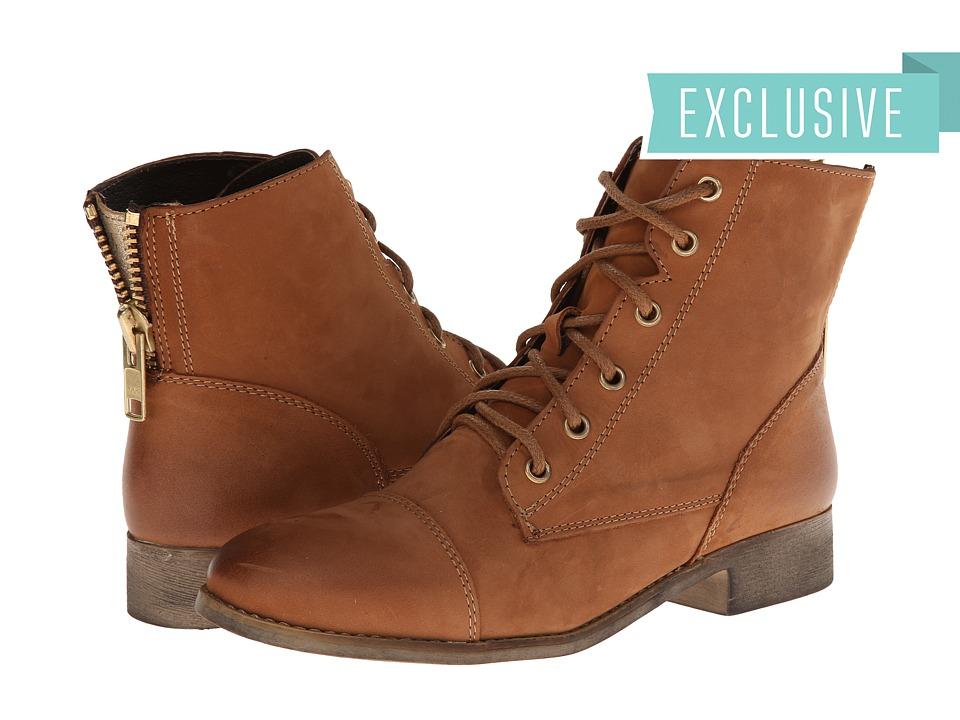 Steve Madden - Exclusive - Resistt (Cognac Leather) Women
