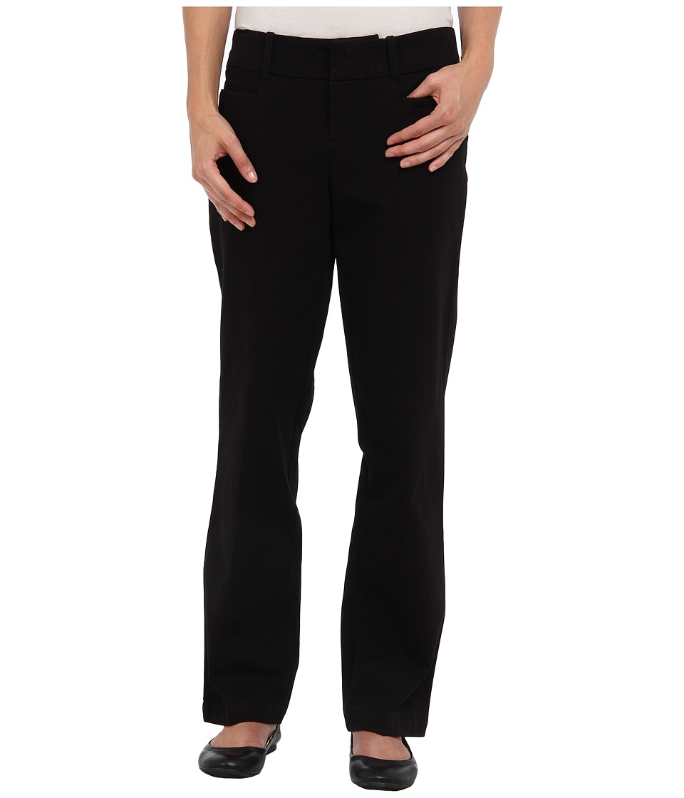 Dockers Petite - Petite The Ideal Pant (Black) Women's Casual Pants