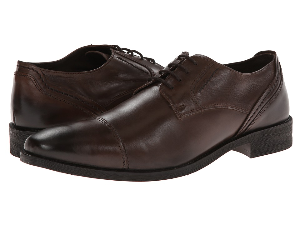 Giorgio Brutini - 24901 (Brown) Men's Lace Up Cap Toe Shoes