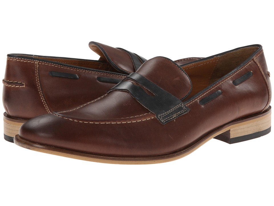 Giorgio Brutini - 24936 (Brown/Navy) Men's Shoes