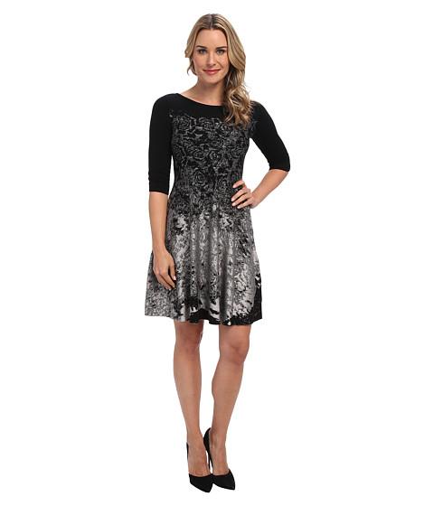 NIC+ZOE - First Fall Twirl Dress (Multi) Women