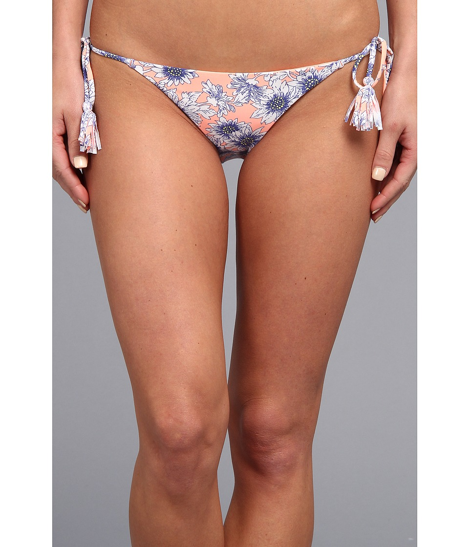 O'Neill - Sunflower Tie Side Bottom (Peach Blossom) Women's Swimwear