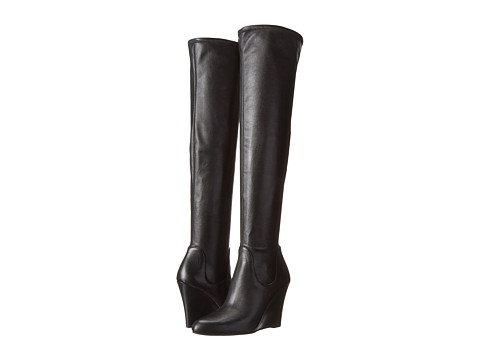 Via Spiga - Brodie (Black Stretch Nappa) Women