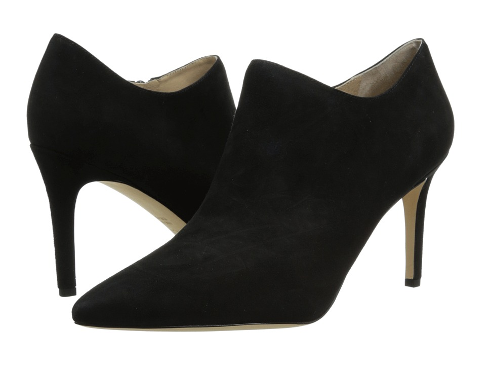 Via Spiga - Cachet (Black Kid Suede) High Heels