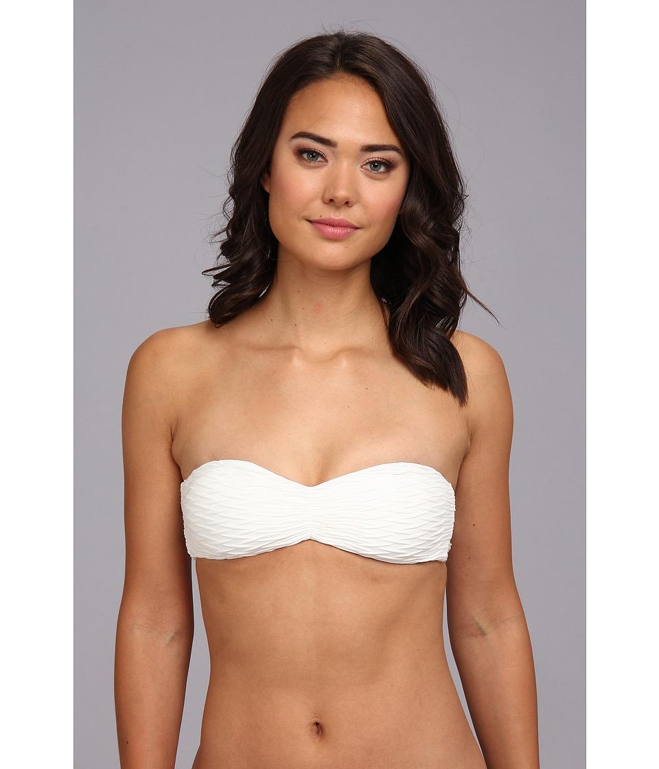 O'Neill - Jax Bandeau Top (White) Women's Swimwear