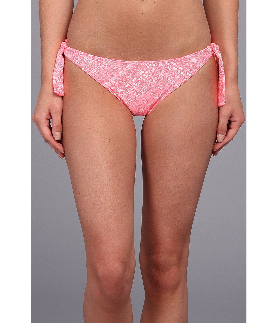 O'Neill - Jessa Thick Tie Pant Bottom (Hot Coral) Women's Swimwear
