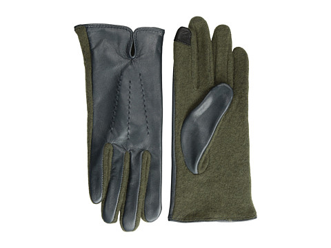 Echo Design - Echo Touch Basic with Leather Glove (Metallic Dusk) Dress Gloves