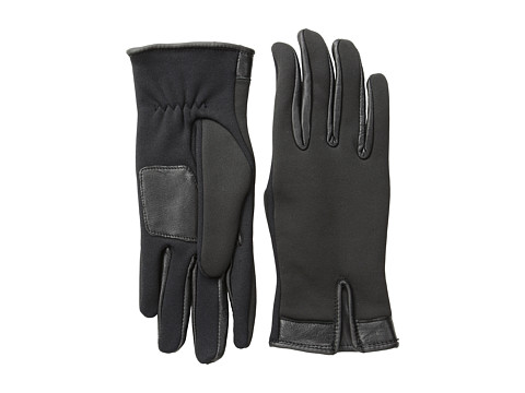 Echo Design - Echo Touch Conductive+Leather Glove (Black) Dress Gloves