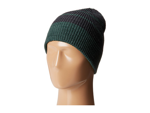 Volcom - Modern Double Beanie (Big Kids) (Jungle Green) Beanies
