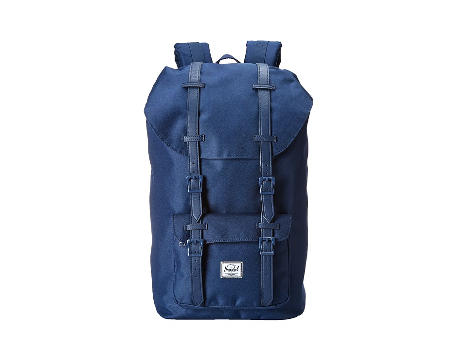 Herschel Supply Co. - Little America (Navy/Navy) Backpack Bags