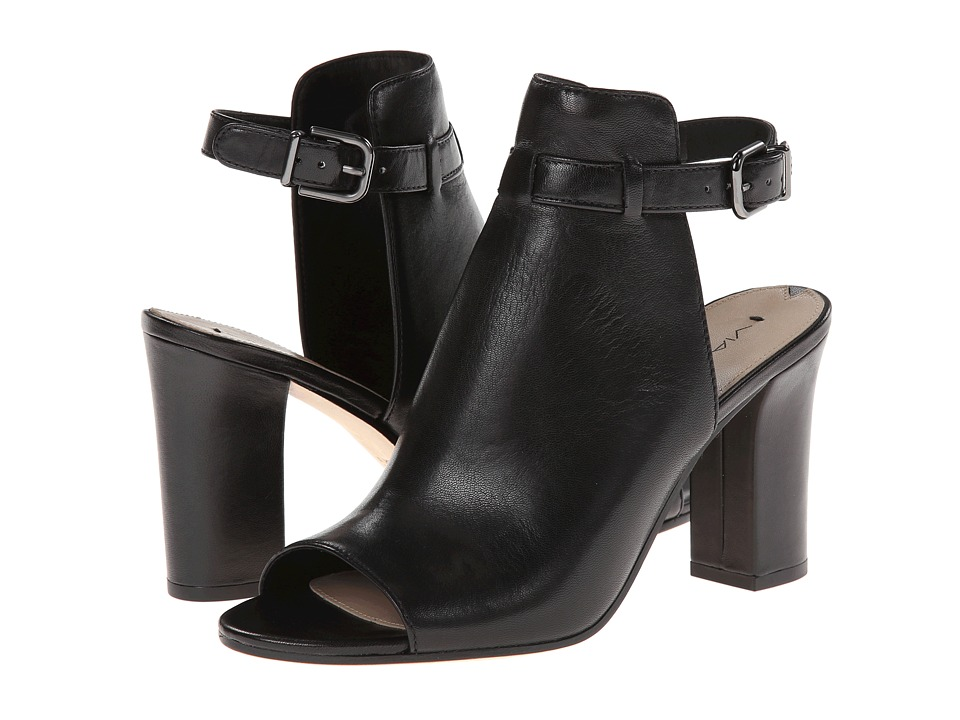 Via Spiga Fabrizie (Black Nappa Leather) High Heels