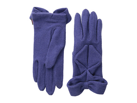 Echo Design - Echo Touch Ruffled Bow Glove (Iris) Dress Gloves