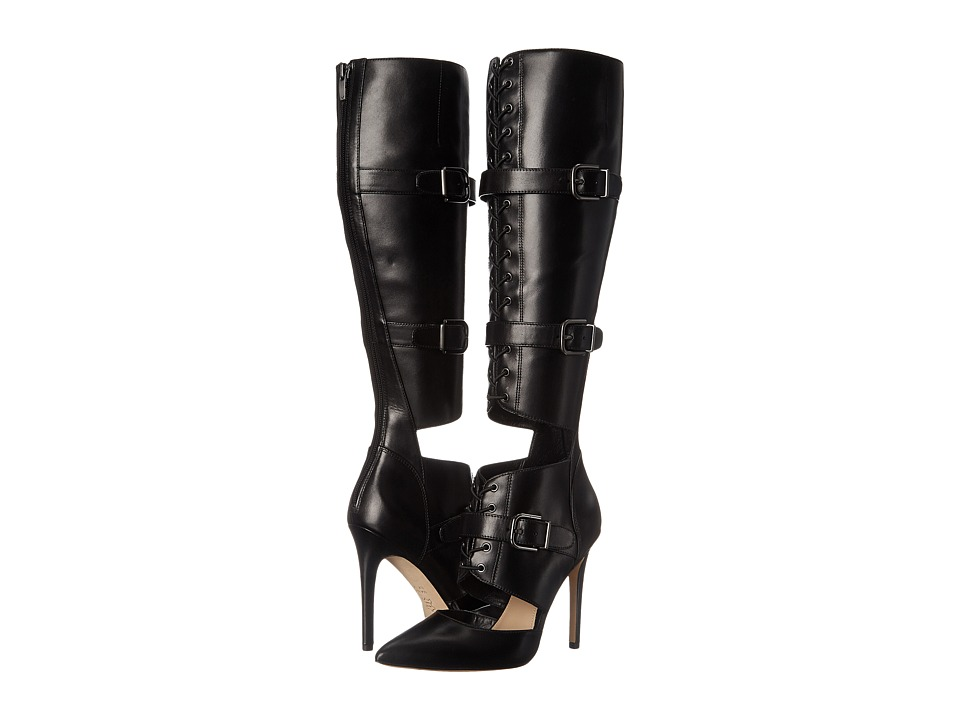 Via Spiga - Franya (Black Eclipse Calf) Women's Boots