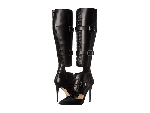 Via Spiga - Franya (Black Eclipse Calf) Women