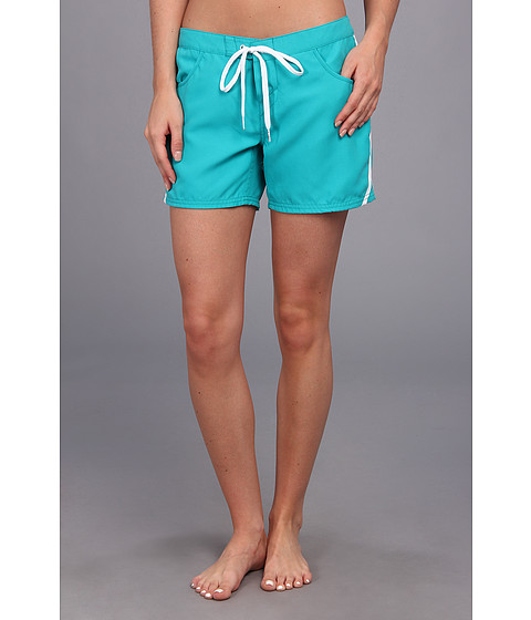 O'Neill - Lilu Boardshort 5 (Juniors) (Deep Sea) Women's Swimwear