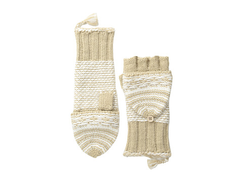 Echo Design - Highland Girl Pop Top Glove (Camel) Dress Gloves