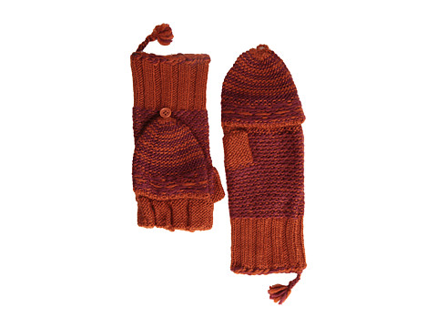 Echo Design - Highland Girl Pop Top Glove (Brick) Dress Gloves