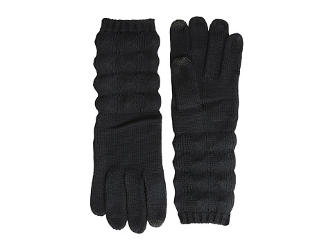 Echo Design - mSoft Diamond Stitch Touch Glove (Black) Dress Gloves