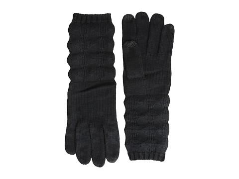 Echo Design - mSoft Diamond Stitch Touch Glove (Black) Dress Gloves