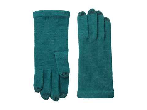 Echo Design - All Over Echo Touch Glove (Vibrant Teal) Dress Gloves