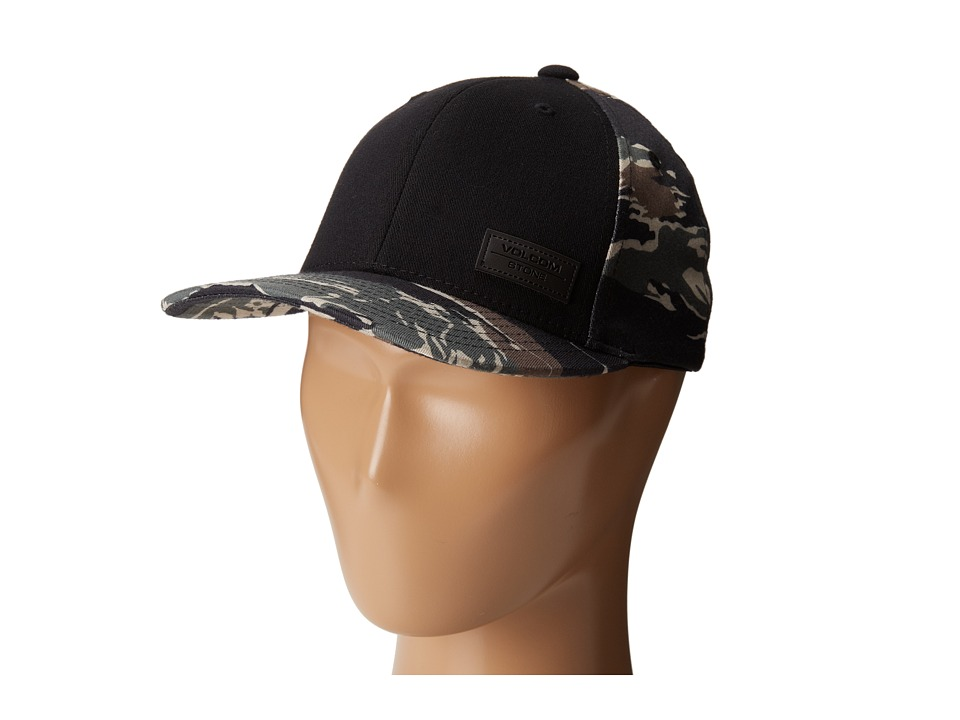 Volcom - Patch Hat (Little Kids) (Bark Brown) Caps