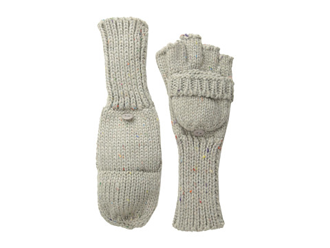 Echo Design - Color Speckle Pop Top Glove (Grey Heather) Dress Gloves
