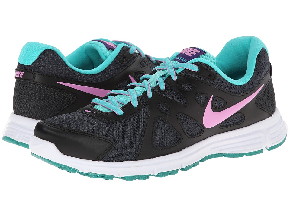 Nike - Revolution 2 (Anthracite/Light Magenta/Black/Hyper Jade) Women's Running Shoes