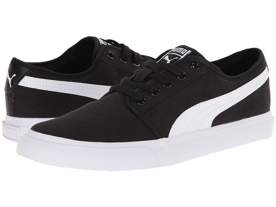 PUMA - El Alta (Black/White) Men's Classic Shoes