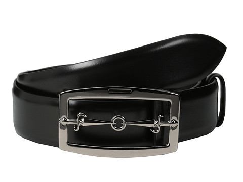 Cesare Paciotti - 1505 (Black) Men's Belts