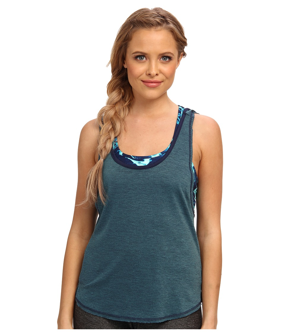 Hurley - Dri-FIT Novelty Tank (Midnight Navy) Women's Sleeveless