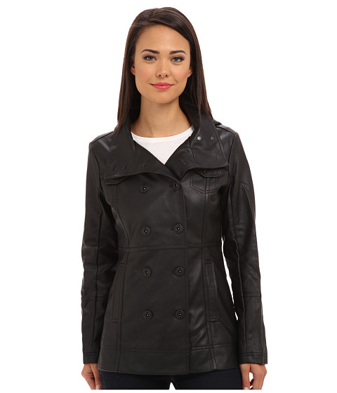 Hurley - Winchester Novelty Jacket (Black) Women's Coat