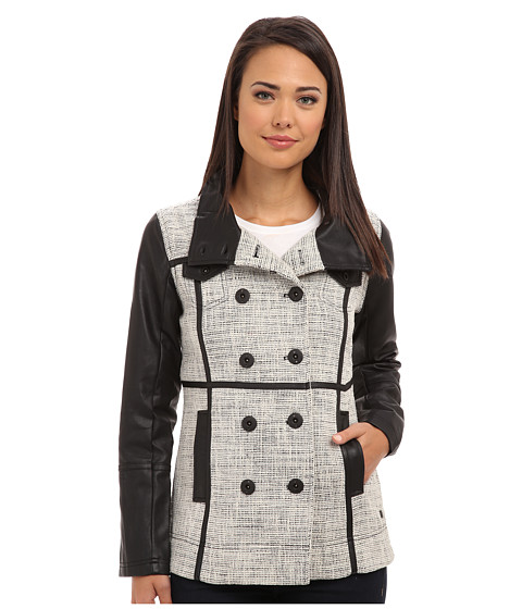 Hurley - Winchester Novelty Jacket (White) Women's Coat